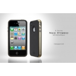SGP Case Neo Hybrid Matte Series Champagne Gold for iPhone 4, 4S (SGP07016)